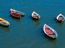 Canoes royalty free stock image