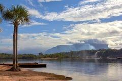 View of Canaima Lagoon stock photos