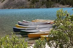 Canoes Stock Image