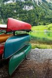 Canoes Royalty Free Stock Photography
