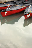 Canoes at Rest Royalty Free Stock Photography