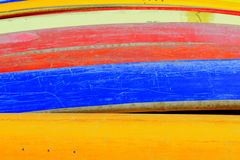 Canoes Stock Images
