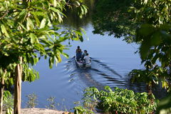 Canoing Royalty Free Stock Images