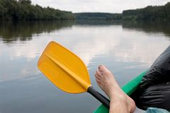 Canoing Stock Photography