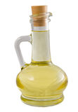 Canola oil. On a white background royalty free stock images