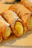 Canoli Royalty Free Stock Photos