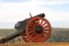 Canon. Old military canon located at the Voortrekker Monument stock photography