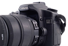 Canon 50D. Professional Level DSLR Camera stock images