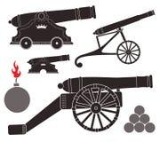 canon ilustración del vector