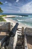 Canon al punto Barbados le Antille di Needham Immagine Stock Libera da Diritti