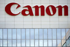 Canon Amsterdão Foto de Stock Royalty Free