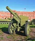 Canon antichar d'artillerie Photos libres de droits