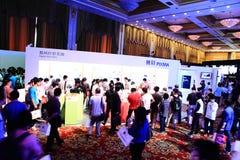 Canon-Ausstellung 2011 Stockfotografie