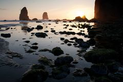Canon Beach Royalty Free Stock Images