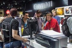 Canon bei Photokina 2016 Lizenzfreie Stockfotos