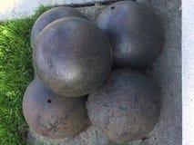 Canon bollar, U S Inbördeskrigera Royaltyfri Fotografi