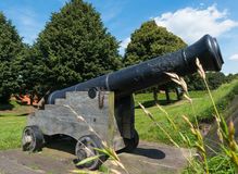 Canon in Bourtange The Neteherlands Royalty Free Stock Images