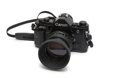 Canon A 1 camera Royalty Free Stock Images