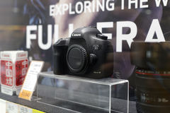 The canon camera shop Stock Images