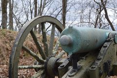Canon from the Civil War Stock Photography