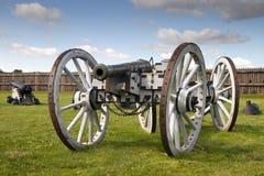 Canon d'artillerie à partir de 1812 Image libre de droits