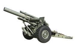 Canon d'artillerie Photographie stock