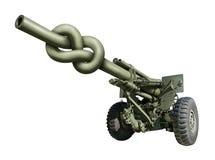 Canon d'artillerie Photo libre de droits