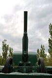 Canon d'artillerie d'armée Photographie stock libre de droits