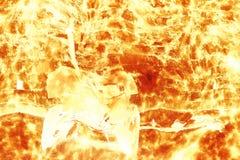 Canon dans l'explosion Images stock
