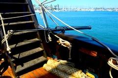 Canon de bateaux images libres de droits