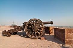 Canon de fort de Jodhpur Image libre de droits