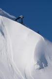 Canon de gaz pour des avalanches de récupération photo libre de droits