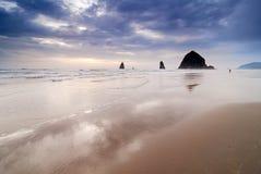 canon de plage Image libre de droits