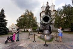 Canon de tsar Images libres de droits