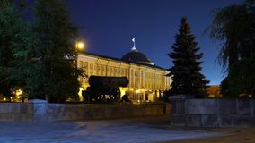 Canon de tsar, Moscou Kremlin, Russie -- est un grand, 5 94 mètres 19 canon de 5 pi de long sur l'affichage en raison du banque de vidéos