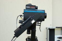 Canon de vitesse de radar à laser Images stock