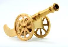 Canon dorato Fotografie Stock Libere da Diritti