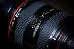 Canon E-F-24-70mm f/2 8L USM lizenzfreie stockfotografie