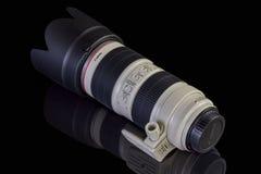 Canon EF 70-200mm f/2 8L ÄR II Arkivfoto