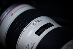 Canon EF 70200mm f/2 8L USM Royalty-vrije Stock Fotografie
