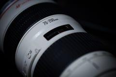Canon EF 70200mm f/2 8L USM Royalty-vrije Stock Afbeeldingen