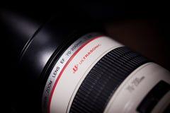 Canon EF 70200mm f/2 8L USM Royalty-vrije Stock Foto's