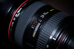 Canon EF 24-70mm f/2.8L USM royalty free stock photography