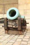 Canon en bronze images libres de droits