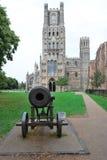 Canon en kathedraal Ely Royalty-vrije Stock Foto