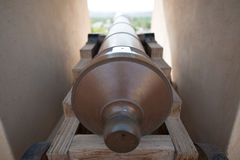 Canon en Omán fotografía de archivo