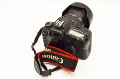 Canon EOS 5D Mark II body digital SLR camera stock images