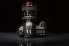 Canon EOS 5D Mark IV profesional DSLR photo camera Stock Image