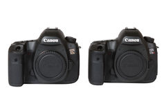 CANON EOS 5DSR and 5Ds DSLR 50 megapixels royalty free stock photo