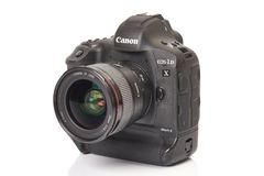 Canon EOS 1Dx mark II royalty free stock images